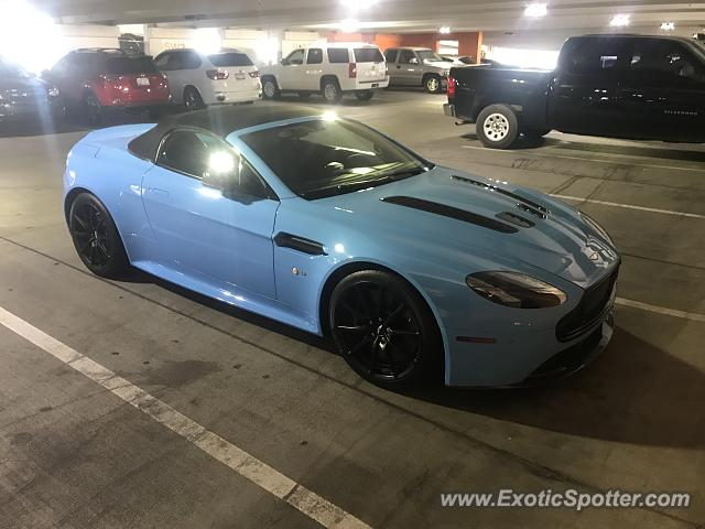 Aston Martin Vantage spotted in Scottsdale, Arizona
