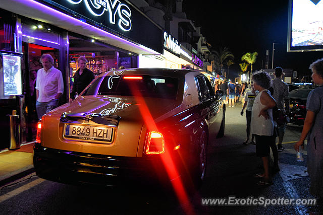Rolls-Royce Phantom spotted in Puerto Banus, Spain