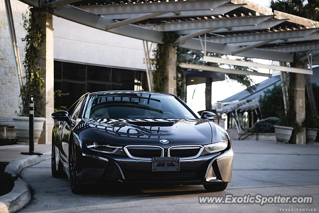 BMW I8 spotted in San Antonio, Texas