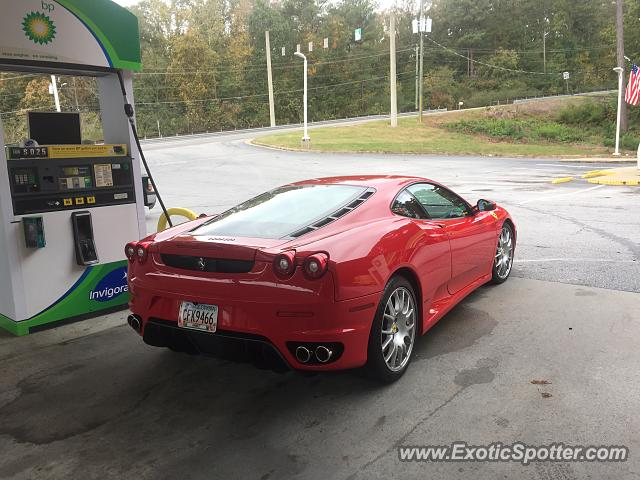 Ferrari F430 spotted in Stone Mountain, Georgia
