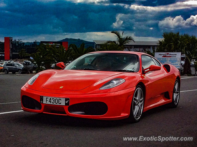 Ferrari F430 spotted in Waikato, New Zealand