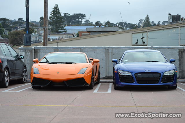 Lamborghini Gallardo spotted in Monterey, California