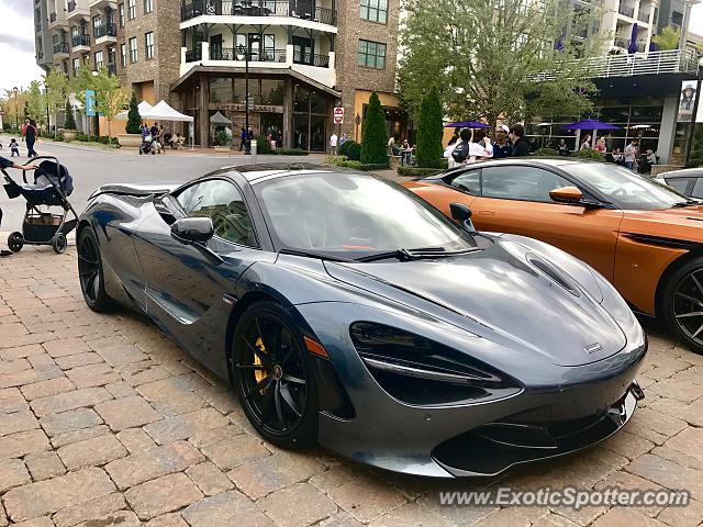 Mclaren 720S spotted in Avalon, Georgia