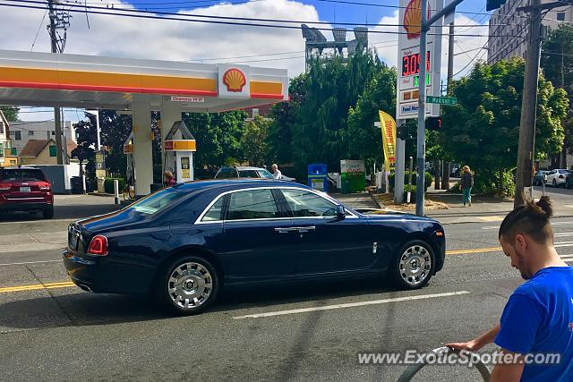 Rolls-Royce Ghost spotted in Seattle, Washington