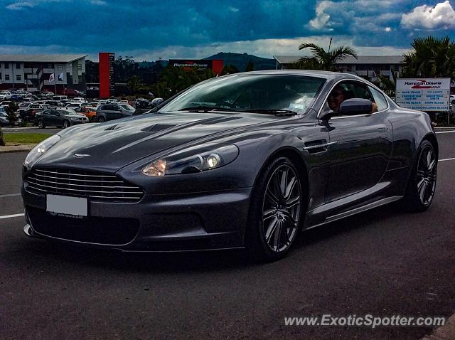 Aston Martin DBS spotted in Waikato, New Zealand