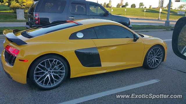 Audi R8 spotted in Madison, Wisconsin