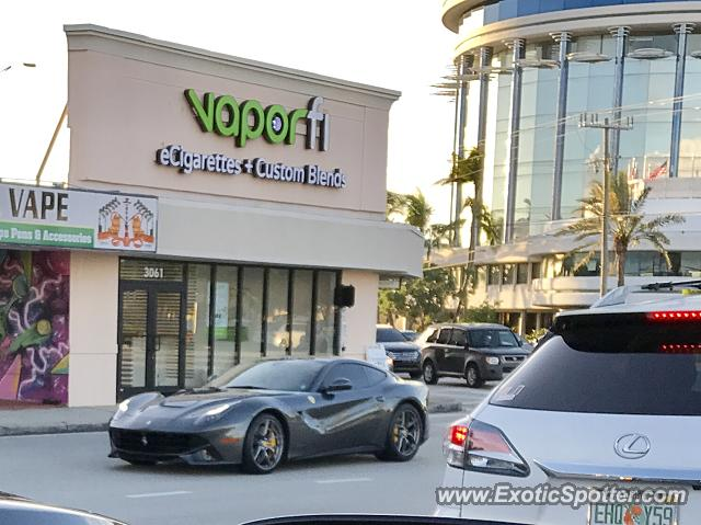 Ferrari F12 spotted in Ft lauderdale, Florida