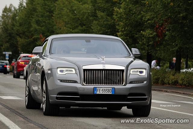 Rolls-Royce Dawn spotted in Maranello, Italy