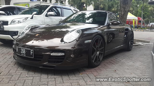 Porsche 911 Turbo spotted in Jakarta, Indonesia