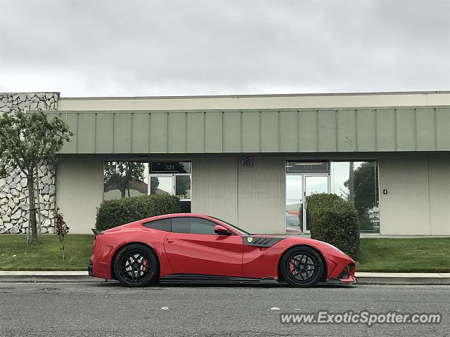 Ferrari F12 spotted in San Francisco, California