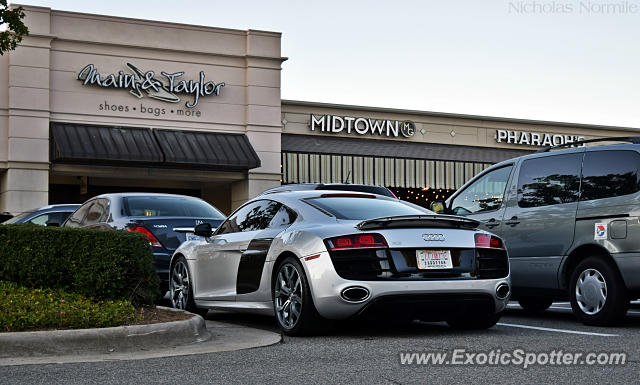 Audi R8 spotted in Raleigh, North Carolina