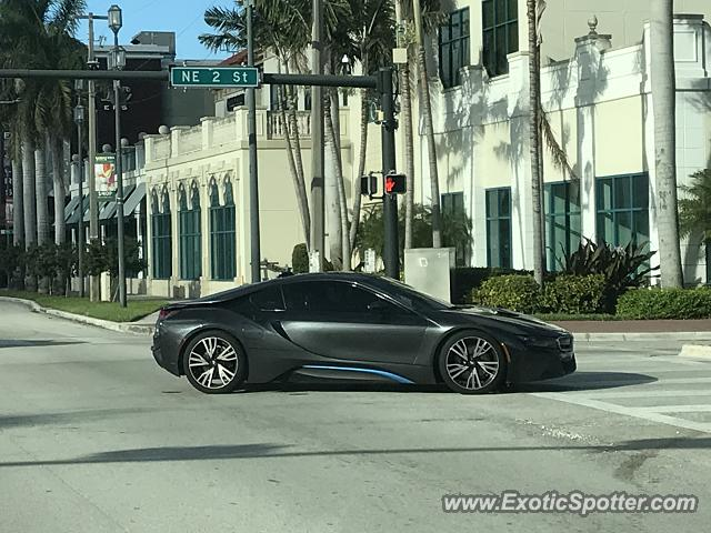BMW I8 spotted in Boca Raton, Florida