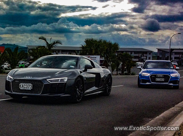 Audi R8 spotted in Waikato, New Zealand