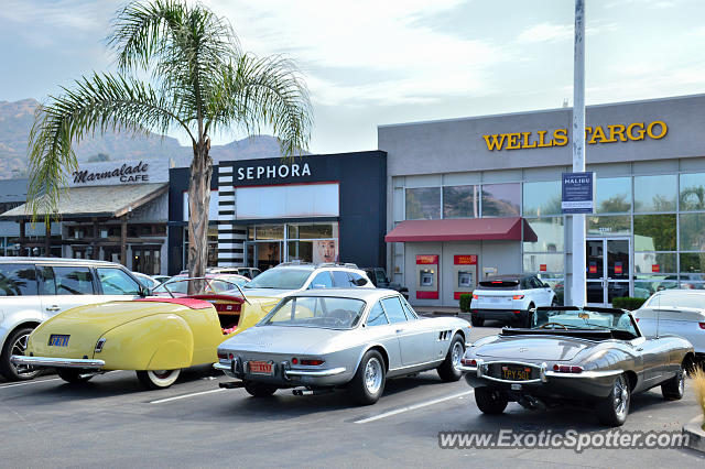Jaguar E-Type spotted in Malibu, California