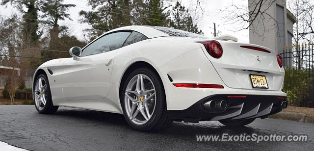 Ferrari California spotted in Westfield, New Jersey