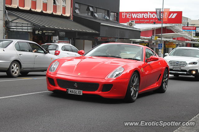 Ferrari 599GTB spotted in Auckland, New Zealand