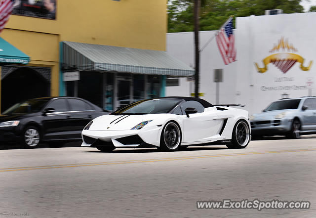 Lamborghini Gallardo spotted in Fort Lauderdale, Florida