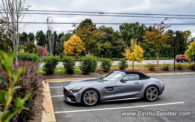 Mercedes AMG GT spotted in Huntersville, North Carolina