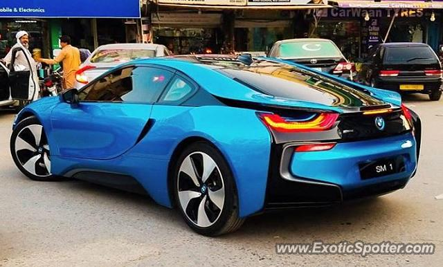 Bmw I8 Spotted In Lahore Pakistan On 11 29 2017