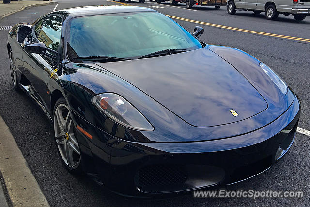 Ferrari F430 spotted in Rahway, New Jersey
