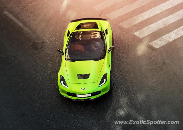 Chevrolet Corvette Z06 Spotted In Baku Azerbaijan On 08162017