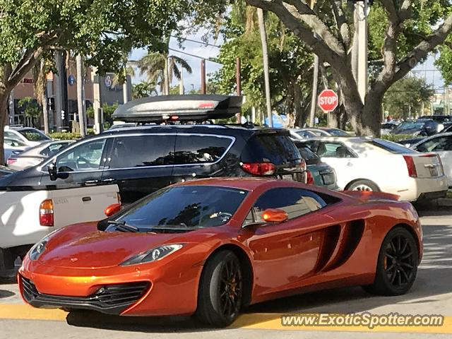 Mclaren MP4-12C spotted in Ft Lauderdale, Florida