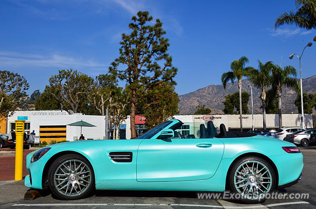 Mercedes AMG GT spotted in Malibu, California