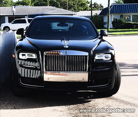 Rolls-Royce Ghost spotted in Largo, Florida