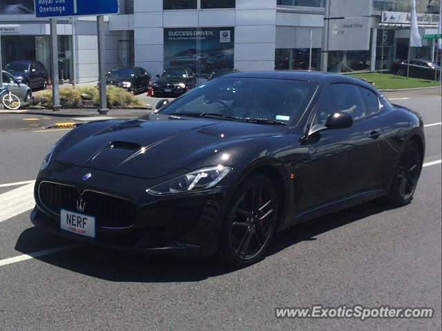 Maserati GranTurismo spotted in Auckland, New Zealand