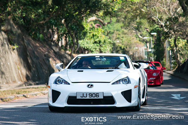 Lexus LFA spotted in Hong Kong, China