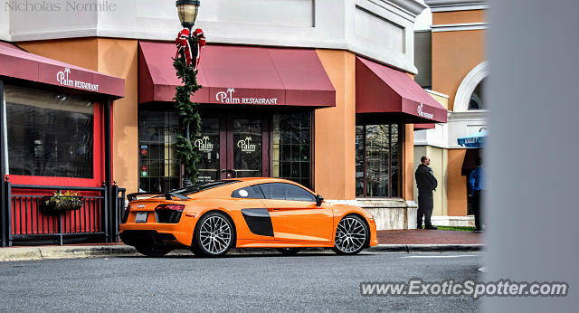 Audi R8 spotted in Charlotte, North Carolina