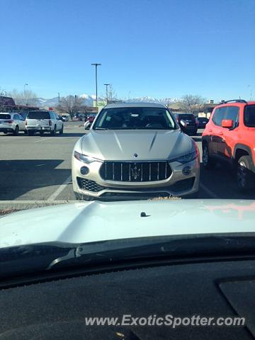 Maserati Levante spotted in Murray, Utah