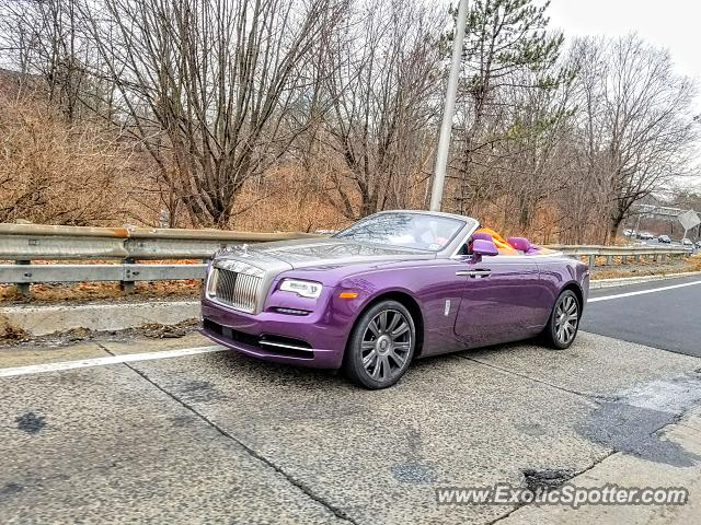 Rolls-Royce Dawn spotted in Morristown, New Jersey
