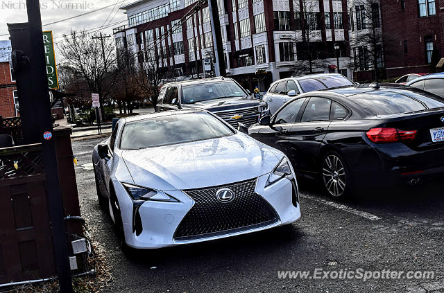 Lexus LC 500 spotted in Charlotte, North Carolina