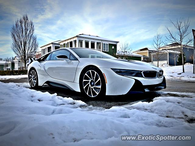 BMW I8 spotted in Bloomington, Indiana