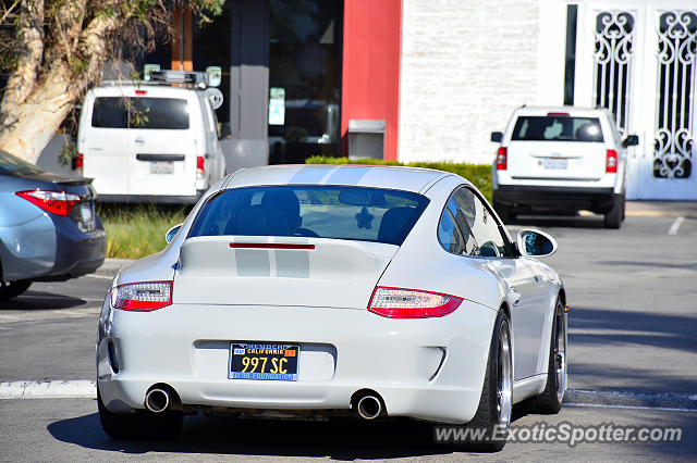 Porsche 911 spotted in Malibu, California