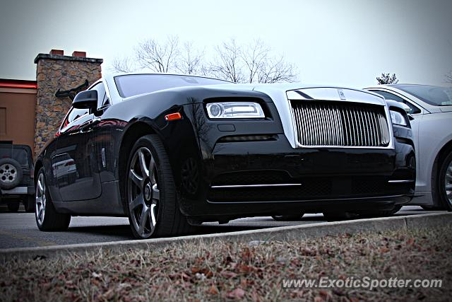 Rolls-Royce Wraith spotted in Bloomington, Indiana