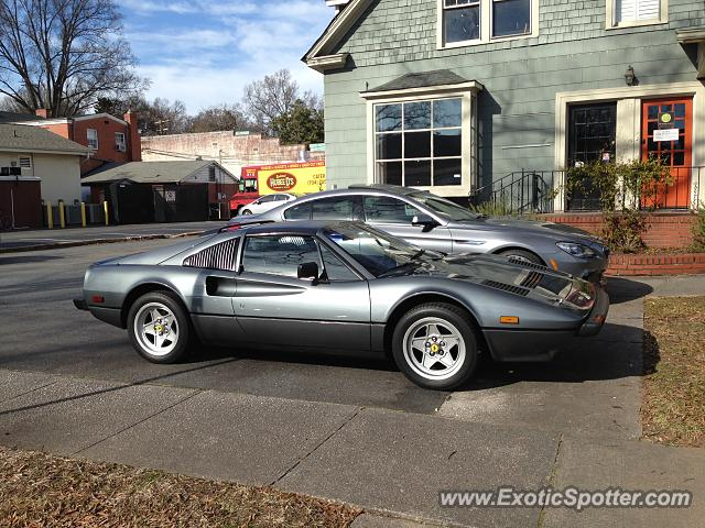 Ferrari 308 spotted in Charlotte, North Carolina