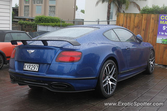 Bentley Continental spotted in Auckland, New Zealand