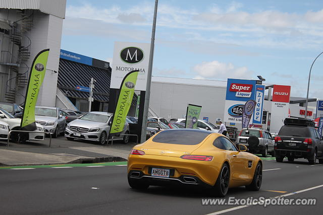 Mercedes AMG GT spotted in Auckland, New Zealand
