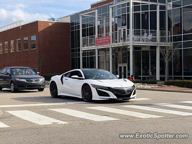 Acura NSX spotted in Raleigh, North Carolina