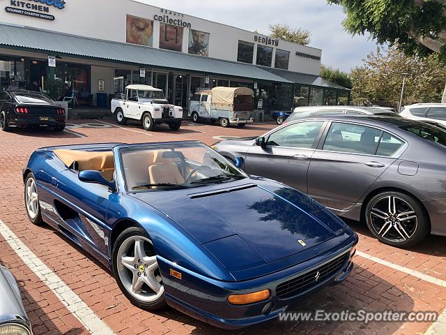 Ferrari F355 spotted in Malibu, California
