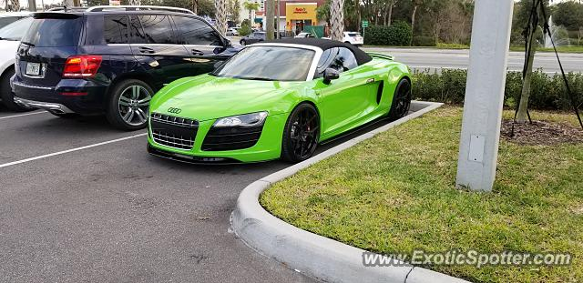 Audi R Spotted In Orlando Florida On - Audi orlando