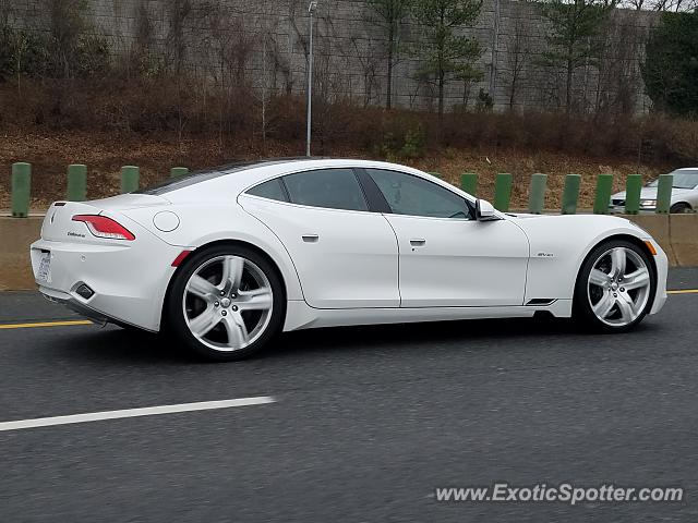 Fisker Karma spotted in Alexandria, Virginia