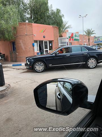 Bentley Mulsanne spotted in Marrakech, Morocco