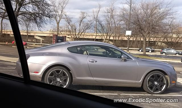 Bentley Continental spotted in Columbus, Ohio