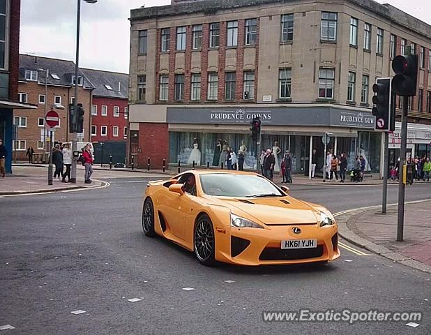 Lexus LFA spotted in Exeter, United Kingdom