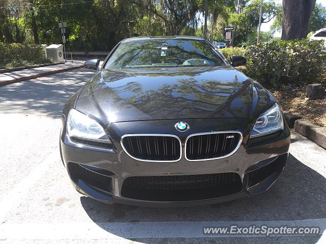 BMW M6 spotted in Riverview, Florida