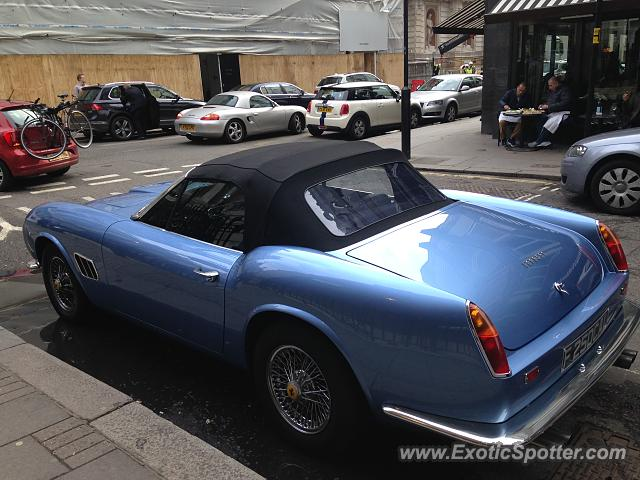 Ferrari 250 spotted in London, United Kingdom