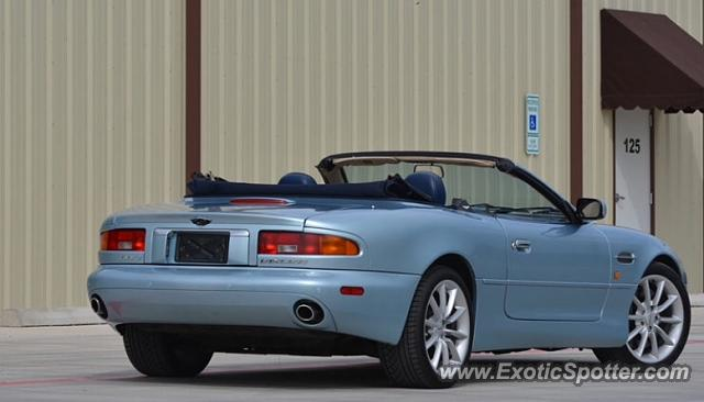 Aston Martin DB7 spotted in Clark, New Jersey